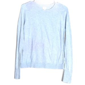 A New Day Blue and Purple Long Sleeve Sweater